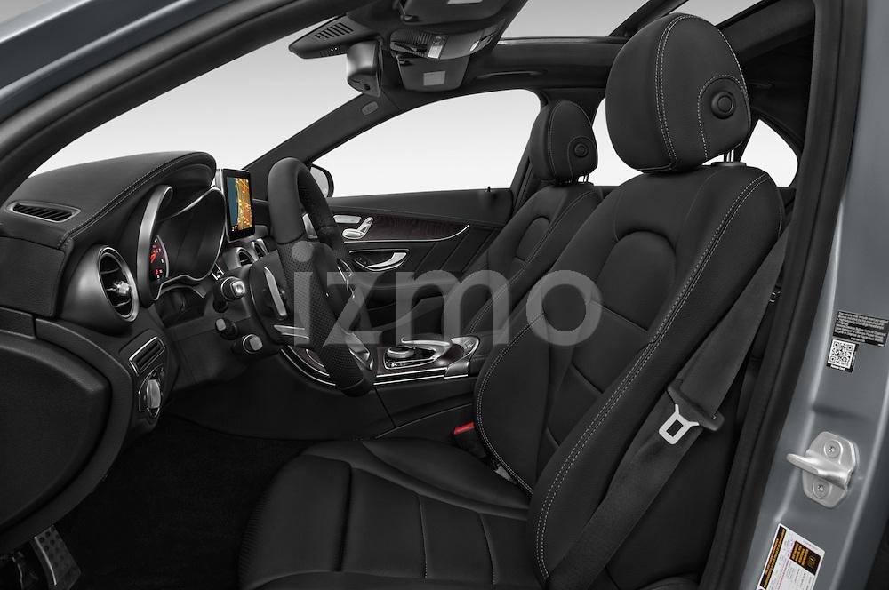 Front seat view of a 2015 Mercedes Benz C-Class C300 Sport 4 Door Sedan Front Seat car photos