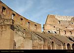 Vaults under Plebian Seats Colosseum Rome