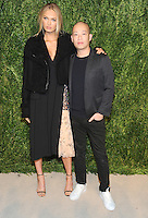 NEW YORK, NY - NOVEMBER 07: Romee Strijd and Jason Wu attends 13th Annual CFDA/Vogue Fashion Fund Awards at Spring Studios on November 7, 2016 in New York City. Photo by John Palmer/ MediaPunch