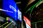 Japan, Tokyo, Ginza, Neon (Zoom Effect)