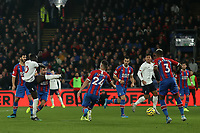 23rd November 2019; Selhurst Park, London, England; English Premier League Football, Crystal Palace versus Liverpool; Sadio Mane of Liverpool scores for 0-1 in the 42nd minute - Strictly Editorial Use Only. No use with unauthorized audio, video, data, fixture lists, club/league logos or 'live' services. Online in-match use limited to 120 images, no video emulation. No use in betting, games or single club/league/player publications