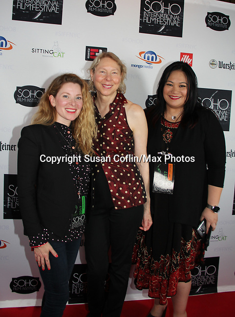 -  Seeing is Believing: Women Direct at its East Coast Premiere at Soho International Film Festival on June 19, 2017 in New York City, New York.(Photos by Sue Coflin/Max Photos) Cady McClain - Sarah Kernochan