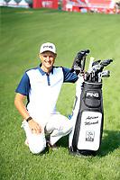 Adrian Meronk (POL) during the preview to the Abu Dhabi HSBC Championship, Abu Dhabi Golf Club, Abu Dhabi,  United Arab Emirates. 15/01/2020<br /> Picture: Fran Caffrey/Golffile<br /> <br /> <br /> All photo usage must carry mandatory copyright credit (© Golffile | Fran Caffrey)