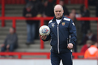 Kevin Luxton of Stevenage during Stevenage vs Crewe Alexandra, Sky Bet EFL League 2 Football at the Lamex Stadium on 10th March 2018
