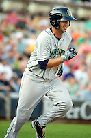 Cedar Rapids Kernels third baseman Trevor Hairgrove #6 during a game against the Quad Cities River Bandits at Modern Woodmen Park on June 30, 2012 in Davenport, Illinois.  Quad Cities defeated Davenport 8-7.  (Mike Janes/Four Seam Images)