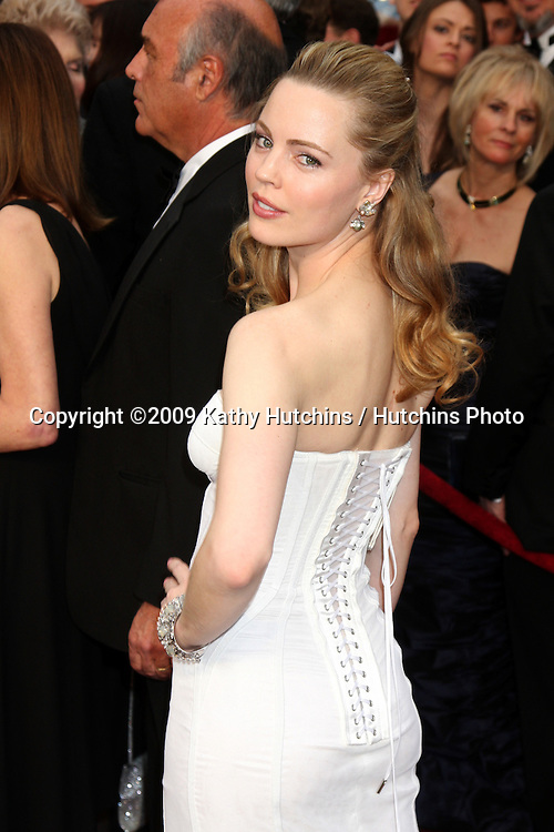 Melissa George  arriving at the 81st Academy Awards at the Kodak Theater in Los Angeles, CA  on.February 22, 2009.©2009 Kathy Hutchins / Hutchins Photo...                .