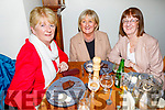 Phil Galvin, Mary O'Connell and Tissie O'Connor from Lixnaw enjoying the evening in Bella Bia on Saturday
