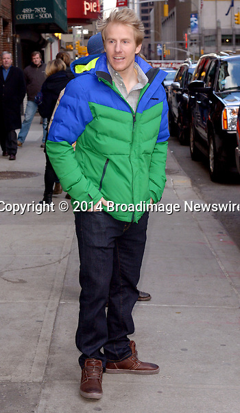 Pictured: Ted Ligety<br /> Mandatory Credit &copy; IKNY/Broadimage<br /> Celebrities making an appearance on the &quot;Late Show With David Letterman&quot; in New York <br /> <br /> 2/25/14, New York, New York, United States of America<br /> <br /> Broadimage Newswire<br /> Los Angeles 1+  (310) 301-1027<br /> New York      1+  (646) 827-9134<br /> sales@broadimage.com<br /> http://www.broadimage.com