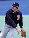 Detroit Tiger Mark Fidrych (20) during a game from his career. Mark Fidrych  played for 21 years with 3 different teams and was a 2-time All-Star.(David Durochik/SportPics)(David Durochik/SportPics)