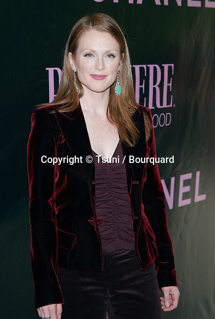 Julianne Moore arriving at the 9th Annual Premiere Women in Hollywood Luncheon at the Four Seasons Hotel in Los Angeles. October 16, 2002.           -            MooreJulianne241.jpg