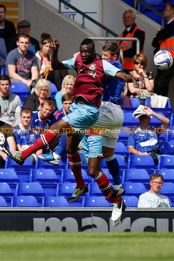 Modibo Maiga (West Ham United) - Ipswich Town vs. West Ham United - Pre-Season Friendly at Portman Road, Ipswich - 04/08/12 - MANDATORY CREDIT: Matt Bradshaw/TGSPHOTO/PIXEL8 - Self billing applies where appropriate - 0845 094 6026 - contact@tgsphoto.co.uk - NO UNPAID USE.