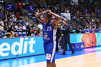 Quantez Robertson (Fraport Skyliners) - 11.10.2017: Fraport Skyliners vs. Basketball Löwen Braunschweig, Fraport Arena Frankfurt