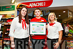 Byrnes Spar Oakpark received the High Standards of  Hygiene and Food Safety Award. L to r: Lisa Coffey, Ryan Dowling and Debbie O'Halloran