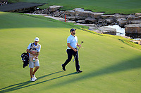 Jon Rahm (ESP) during the third round of the DP World Championship, Earth Course, Jumeirah Golf Estates, Dubai, UAE. 23/11/2019<br /> Picture: Golffile | Phil INGLIS<br /> <br /> <br /> All photo usage must carry mandatory copyright credit (© Golffile | Phil INGLIS)
