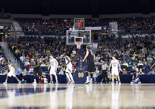 December 21, 2012:  A general view during NCAA Basketball game action between the Notre Dame Fighting Irish and the Niagara Purple Eagles at Purcell Pavilion at the Joyce Center in South Bend, Indiana.  Notre Dame defeated Niagara 89-67.