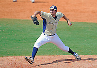 Florida International University left handed pitcher Michael Gomez (9) plays against Florida Atlantic University. FAU won the game 9-3 on March 18, 2012 at Miami, Florida.