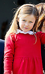 16-04-2014 Balcony 74th birthday of the Danish Queen at Marselisborg Castle in Aarhus. <br /> Princess Isabella  <br /> <br /> <br /> Credit: PPE/face to face<br /> - No Rights for Netherlands -