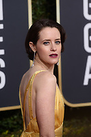 Golden Globe nominee Claire Foy attends the 76th Annual Golden Globe Awards at the Beverly Hilton in Beverly Hills, CA on Sunday, January 6, 2019.<br /> *Editorial Use Only*<br /> CAP/PLF/HFPA<br /> Image supplied by Capital Pictures