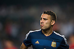 Nicolas Otamendi of Argentina looks on during the HKFA Centennial Celebration Match between Hong Kong vs Argentina at the Hong Kong Stadium on 14th October 2014 in Hong Kong, China. Photo by Aitor Alcalde / Power Sport Images