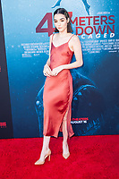 Los Angeles, CA - AUGUST 13th: <br /> Indiana Massara attends the 47 Meters Down: Uncaged premiere at the Regency Village Theater on August 13th 2019. Credit: Tony Forte/MediaPunch