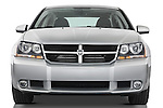 Straight front view of a 2008 Dodge Avenger RT