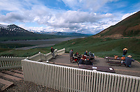 USA, Alaska, beim Eielson Visitor Center im Denali Nationalpark