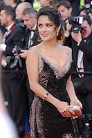 "Salma Hayek attending the ""Madagascar III"" Premiere during the 65th annual International Cannes Film Festival in Cannes, France, 18.05.2012..Credit: Timm/face to face/MediaPunch Inc. ***FOR USA ONLY***"