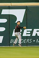 Lake Elsinore Storm Taylor Kohlwey (5) in action against the Rancho Cucamonga Quakes at LoanMart Field on April 20, 2018 in Rancho Cucamonga, California. The Quakes defeated the Storm 7-5.  (Donn Parris/Four Seam Images)