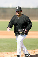Bartolo Colon -  Chicago White Sox - 2009 spring training.Photo by:  Bill Mitchell/Four Seam Images