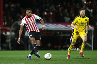 Julian Jeanvier of Brentford in action during Brentford vs Oxford United, Emirates FA Cup Football at Griffin Park on 5th January 2019