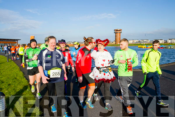 Pictured at the Kerry's Eye Valentines Weekend 10 mile road race on Sunday.
