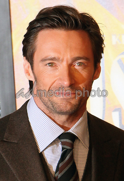 24 November 2008- New York, NY- Hugh Jackman arriving to the New York Premiere of Australia.<br /> Photo Credit: Paul Zimmerman/AdMedia