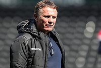 Bolton Wanderers' manager Phil Parkinson pictured before the match <br /> <br /> Photographer Andrew Kearns/CameraSport<br /> <br /> The EFL Sky Bet Championship - Derby County v Bolton Wanderers - Saturday 13th April 2019 - Pride Park - Derby<br /> <br /> World Copyright &copy; 2019 CameraSport. All rights reserved. 43 Linden Ave. Countesthorpe. Leicester. England. LE8 5PG - Tel: +44 (0) 116 277 4147 - admin@camerasport.com - www.camerasport.com