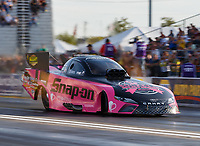 Sep 29, 2017; Madison , IL, USA; NHRA funny car driver Cruz Pedregon during qualifying for the Midwest Nationals at Gateway Motorsports Park. Mandatory Credit: Mark J. Rebilas-USA TODAY Sports