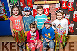 CHRISTMAS PLAY: Mrs. O'Donoghue's Junior Infants Sarah McGrath, Tomás Bailey Kelliher, Meabh Kennedy, Logan Lynch, Rian Tuohy, Ava Moriartyat Scoil Eoin, Balloonagh enjoying their Christmas play on Tuesday