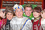 The Marian Players Pantomine actors l-r: Joanne Dennehy, Brian Hickey, Shane Dillane and Nora Coakley who are busy in rehearsals for Aladdin which they will be performing on the 26th January