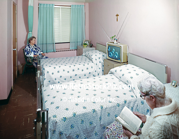 Providence Rest Nursing Home, NYC, New York,  Resident room
