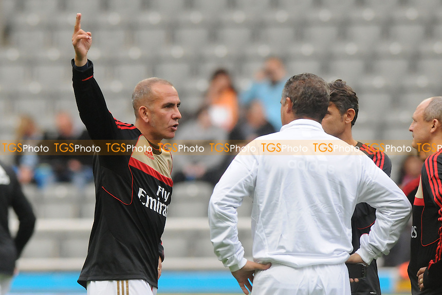 Paolo Di Canio of AC Milan Glorie - Newcastle United Legends vs AC Milan Glorie - Steve Harper Testimonial Match at Newcastle United FC, St James Park, Newcastle upon Tyne - 11/09/13 - MANDATORY CREDIT: Steven White/TGSPHOTO - Self billing applies where appropriate - 0845 094 6026 - contact@tgsphoto.co.uk - NO UNPAID USE