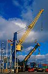 A728G9 Cranes Harwich Dock Company Ltd Harwich Essex England