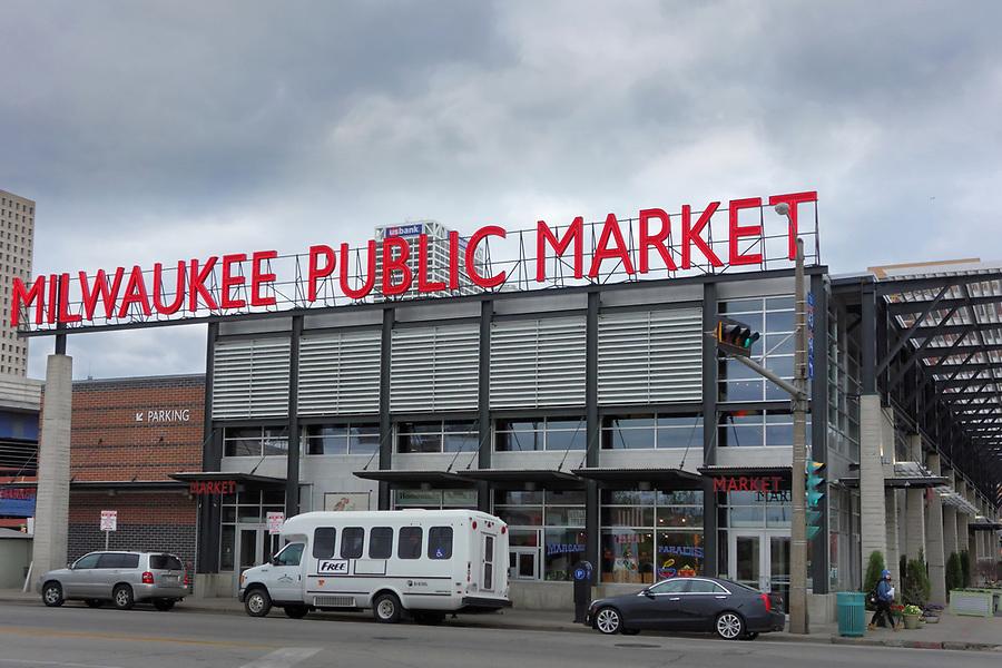 Milwaukee Public Market, Historic Third Ward, Milwaukee, Wisconsin, USA