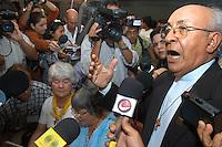 A senten&ccedil;a<br /> <br /> D. Tomaz Balduino presidente da CNBB.<br /> <br /> Raifran e Clodoaldo no banco dos r&eacute;us. <br /> <br /> Julgamento de Raifran das Neves Sales o Fogoi&oacute; e Clodoaldo Carlos Batista ,conhecido como Eduardo, pelo  pelo assassinato da mission&aacute;ria americana Dorothy Mae Stang ocorrido  no munic&Igrave;pio de Anap&uacute; no estado do Par&aacute; em 12/02/2005.Bel&eacute;m, Par&aacute;, Brasil.Foto Paulo Santos/Interfoto<br /> 10/12/2005