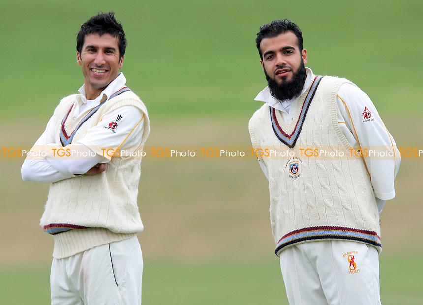 A Ahmed (left) and I Shah of Hainault - Ardleigh Green CC vs Hainault & Clayhall CC - Essex Cricket League- 08/09/07  - MANDATORY CREDIT: Gavin Ellis/TGSPHOTO - SELF-BILLING APPLIES WHERE APPROPRIATE. NO UNPAID USE. TEL: 0845 094 6026..