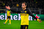 05.11.2019, Signal Iduna Park, Dortmund , GER, Champions League, Gruppenphase, Borussia Dortmund vs Inter Mailand, UEFA REGULATIONS PROHIBIT ANY USE OF PHOTOGRAPHS AS IMAGE SEQUENCES AND/OR QUASI-VIDEO<br /> <br /> im Bild | picture shows:<br /> Einzelaktion Mario Goetze (Borussia Dortmund #10), <br /> <br /> Foto © nordphoto / Rauch