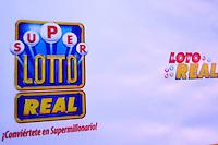 La loteria electronica LOTO REAL lanzo su nuevo comercial que lleva como mensaje: Si vas pegar pega de verdad.Foto:Saturnino Vasquez/acento.com.do.Fecha:02/02/2012.
