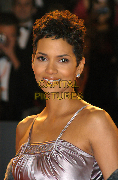HALLE BERRY.The Orange British Film Academy Awards BAFTAS at Odeon Leicester Square.www.capitalpictures.com.sales@capitalpictures.com.© Capital Pictures