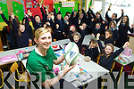 Irish rugby star Siobhain Fleming received a heroine's welcome back to Currow NS by her pupils after she scored a try in Ireland victory over Scotland on Saturday which secured Ireland the Triple Crown for the first time ever ....