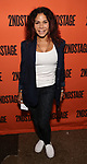 Daphne Rubin-Vega attends the Opening Night performance of 'A Parallelogram'  at The Second Stage Theatre on August 2, 2017 in New York City.