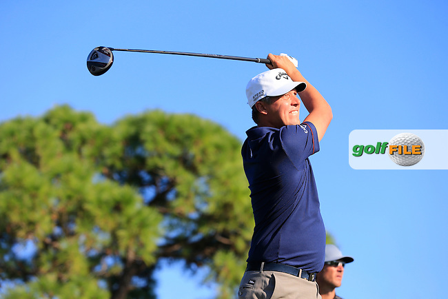 Freddie Jacobson (SWE) during the second round at the The Honda Classic 2014, PGA National, Palm Beach, Florida,USA.<br /> Picture: Fran Caffrey www.golffile.ie
