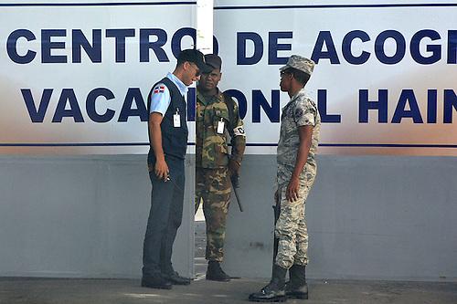 Centro de Acogida para Inmigrantes, en Haina, San Cristóbal.