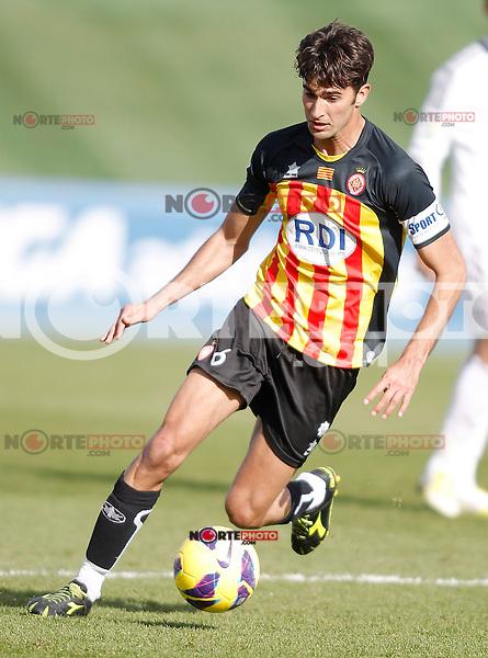 Girona's Marcos Tebar during La Liga match. January 13, 2013. (ALTERPHOTOS/Alvaro Hernandez)